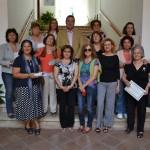 Almagro: El curso de encaje de blonda finaliza con la entrega de diplomas