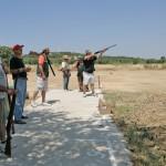 El Ayuntamiento de Almodóvar ultima trabajos de adecuación del campo de tiro de 'El Raso' con vistas a las dos finales autonómicas de tiro este domingo