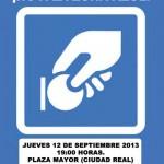 Ciudad Real: IU insiste en que los ciudadanos son los protagonistas de la campaña contra la zona azul e invita a asistir a la asamblea de este jueves