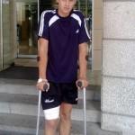 Carlos Aranda sale del hospital