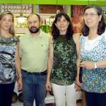 Lola Merino asiste a la inauguración de un comercio de productos ecológicos en la capital