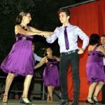 La academia de baile Amanecer alegra la Feria y Fiestas de Daimiel