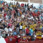 El primer Gran Prix con vaquillas lleva a más de 5.000 personas a la Plaza de Toros de Daimiel