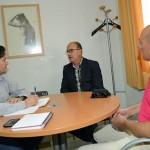 La Diputación garantiza al presidente del CD Ciudad Real su apoyo