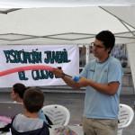 La Asociación Juvenil Quijote organiza talleres y juegos infantiles en la Plaza Mayor de Ciudad Real