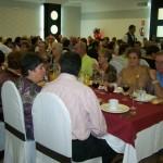 El Centro de Mayores de Manzanares organiza su tradicional comida de convivencia