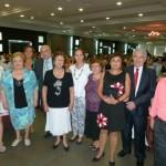 Más de 300 personas participan en la comida de convivencia del Centro de Mayores de Manzanares