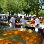 Manzanares: La paella popular reúne a 1.600 personas en el recinto de FERCAM