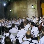 Miguelturra: Concierto de la banda municipal en la plaza de la Virgen