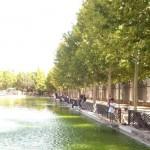 Ciudad Real: Pescadores urbanitas en el «malecón dominguero» del Parque del Pilar