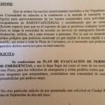 Ciudad Real: Los vecinos de Plaza Cervantes 4 solicitan que se confeccione un plan de evacuación para emergencias