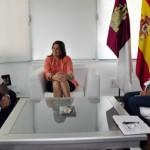 La alcaldesa de Ciudad Real se felicita porque la ONCE haya elegido a la capital como sede regional para celebrar el Día Mundial del Bastón Blanco