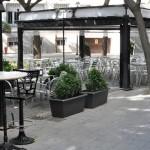 Terrazas de la Plaza Cervantes: Exigen al Ayuntamiento que entregue a los vecinos del nº4 el informe de los bomberos sobre accesibilidad