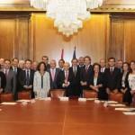 La alcaldesa de Ciudad Real muestra su apoyo al Proyecto de Ley de Racionalización y Sostenibilidad de la Administración local