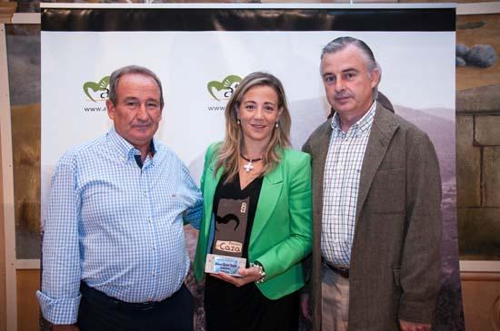 Alcalde de Ventas (Luis Celestino de la Vega), Lola Merino (Presidenta Amfar) y Juan Caballero (Presidente Atica CLM)