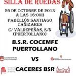El Baloncesto en Silla de Ruedas Concemfe Puertollano inicia la temporada