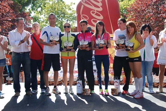 Ganadores y ganadoras XVII Medio Maratón