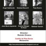 Ángel Gabilondo, Soledad Becerril, Baltasar Garzón, Pepa Bueno, José María Izquierdo y El Roto, en el VI Curso de la Escuela de Ciudadanos de Manzanares