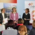 """Ciudad Real: Lola Merino entrega los diplomas a las 30 participantes del programa """"Emprendiendo mi oportunidad"""""""