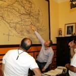 Tres expedicionarios trazan a pie, desde hoy, el camino que posibilitará a los peregrinos de san Juan de Ávila caminar de Almodóvar a Montilla