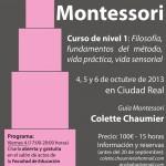 Curso de iniciación a la pedagogía Montessori en Ciudad Real