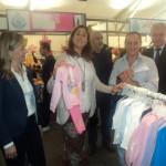 Inaguración de la VIII Feria del Stock: La alcaldesa de Ciudad Real anuncia bonificaciones en las licencias para quienes inicien un negocio