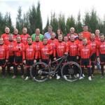 El club ciclista BTT Sinllel presenta su nueva equipación