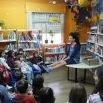 Daimiel: Vela Luz compartió con más de 50 niños su maleta de cuentos