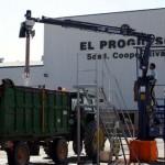 """""""El Progreso"""" de Villarrubia de los Ojos cierra temporalmente la recogida, y por primera vez en su historia centenaria, hasta dar salida a la uva"""