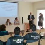 El Centro de la Mujer de Manzanares forma a la Guardia Civil en estrategias de intervención en violencia machista