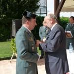 """El acalde de Manzanares destaca la """"profesionalidad admirable"""" de la Guardia Civil"""