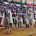 Cinco equipos compiten este sábado en las II Juegos Medievales en la plaza de toros de Manzanares