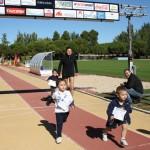Los pequeños se preparan para la 13ª Carrera Popular Escolar de este 20 de octubre