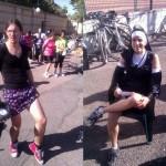 La Mariprao sube a la bicicleta a más de doscientas mujeres y a algunos hombres disfrazados