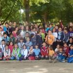 El Grupo Scout Siles 361 lleva a cabo una «jornada de puertas abiertas» en el Parque de Gasset