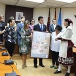 Tomelloso: Virgen de las Viñas participó  el sábado en la XXXIV Muestra Nacional de Folklore de Alhama de Murcia