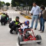 Cerca de 400 alumnos de quinto de primaria pasarán por el curso de educación vial que imparte la Policía Local de Tomelloso