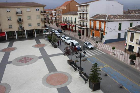 Calzada Centro de la localidad
