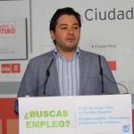 """Triguero (PSOE): """"Con la situación dramática que están viviendo los jóvenes es de risa oír a NNGG decir que Cospedal está con ellos"""""""