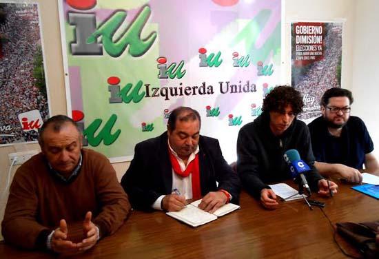 Paris Félix y Fulgencio Ruiz respaldados por Miguel Ramírez e Iván García.