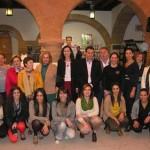 La directora del Instituto de la Mujer inaugura la V edición  de la Feria de Empresarias de Villanueva de los Infantes