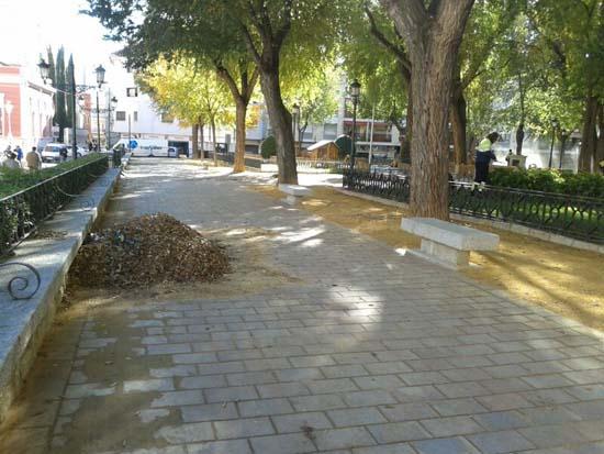 Ciudad real actividad fren tica para adecentar los for Jardines del prado