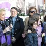 Escolares de los colegios Hermano Gárate y Jorge Manrique conmemoran con Afammer el Día para la Eliminación de la Violencia contra la Mujer