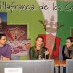Lola Merino informa sobre la Ley de Titularidad Compartida en Villafranca de los Caballeros