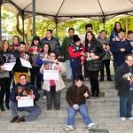 La alcaldesa de Ciudad Real presenta el calendario solidario de la Asociación Caminar
