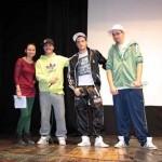 Los jóvenes de Calzada de Calatrava pelean contra la violencia de género a través de la letra de las canciones de rap y el grafiti