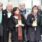 """Los abogados se concentran contra la Ley de Tasas tras un año """"nefasto"""" en el que se ha """"obstaculizado"""" el acceso de los ciudadanos a la Justicia"""