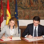 Junta de Comunidades y Ministerio de Industria firman varios convenios relacionados con las tecnologías de la información y la comunicación por valor de 11 millones de euros