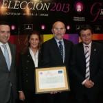 """La quesera """"Ojos del Guadiana"""" recibe su premio Gran Selección Plata"""