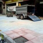 Ciudad Real: El «bulevar Díaz de Mera» ya luce nuevas baldosas